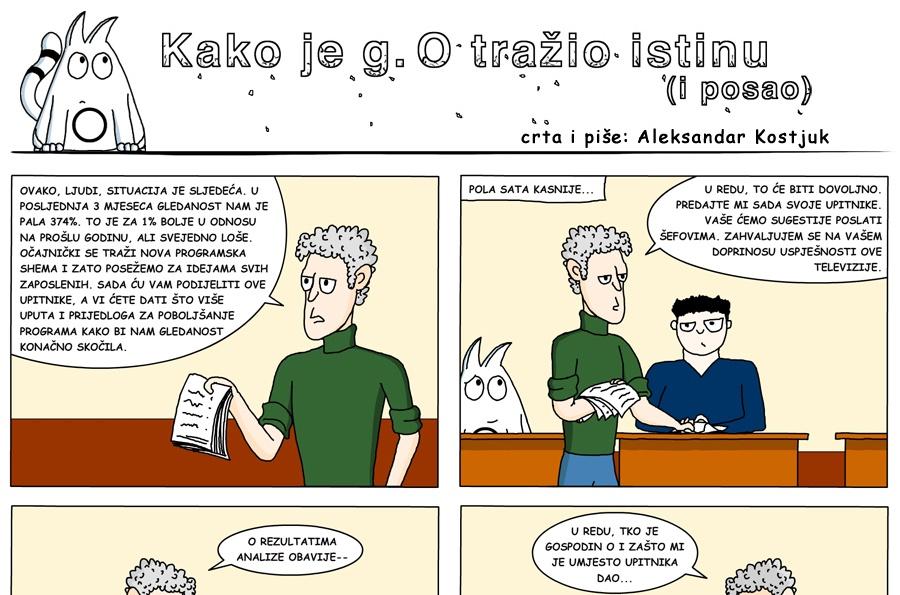 Photo of STRIP PETKOM: Kako je g. O tražio istinu (i posao)?