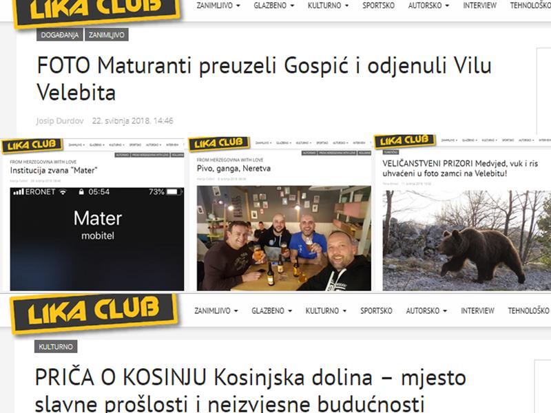 Photo of TOP 5 Što se najviše čitalo u svibnju? Gospićki maturanti, priča o Kosinju, Mater…