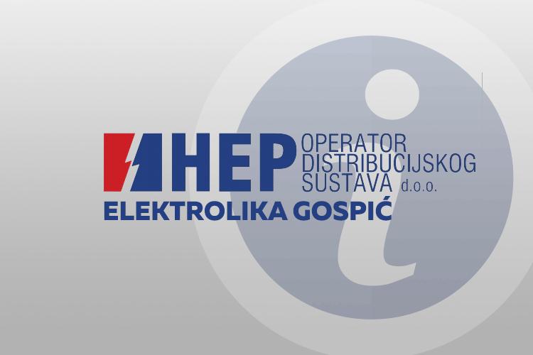 Photo of ELEKTROLIKA GOSPIĆ – Informacije o električnoj mreži