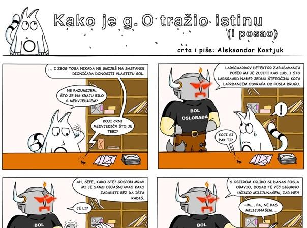 Photo of STRIP PETKOM Kako je g. O tražio istinu (i posao)?