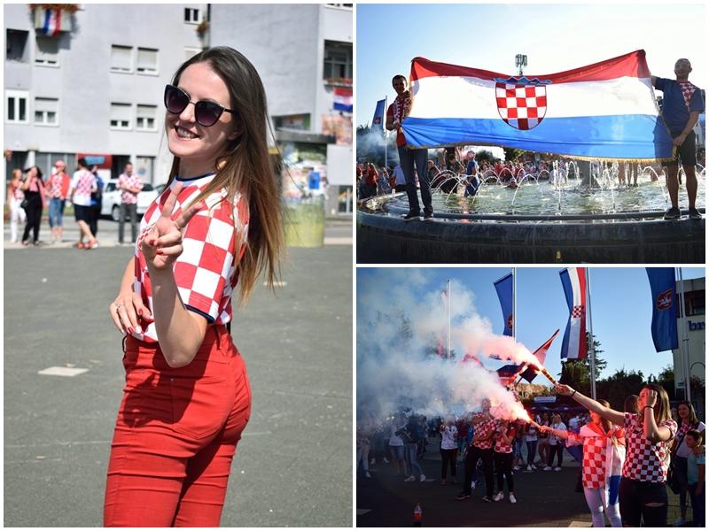 Photo of FOTO Veliko slavlje na ulicama Gospića u čast viceprvaka svijeta