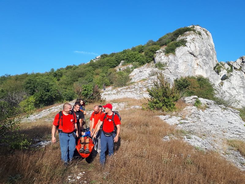 Photo of HGSS spasio planinara koji se u sandalama penjao na Zir