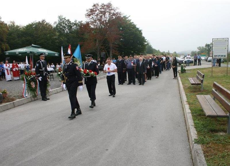 Photo of U Žutoj Lokvi obilježena 27. obljetnica pogibije četvorice policajaca