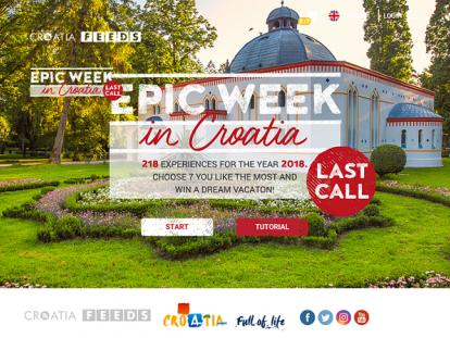 "Photo of Posljednji nastavak kampanje ""Epic Epic Week in Croatia – Last call"""