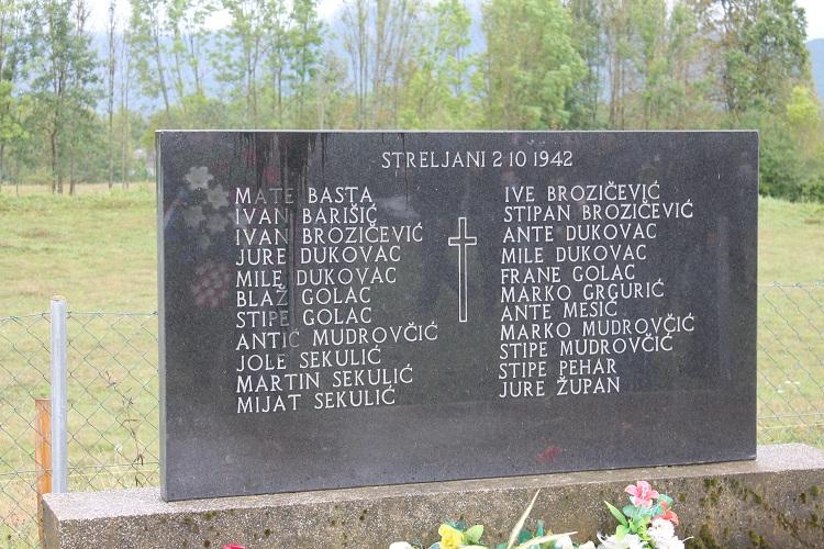 Photo of Komemoracija za sve poginule Ribničane tijekom II. svjetskog i Domovinskog rata
