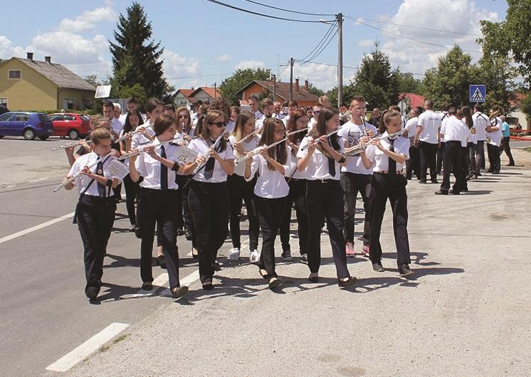 Photo of 34. susret vatrogasnih puhačkih orkestara u Križu