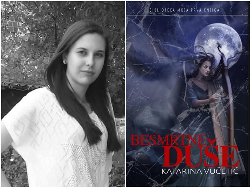 Photo of BESMRTNE DUŠE Mlada otočka autorica Katarina Vučetić predstavlja svoj prvi roman!
