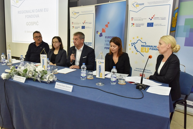 Photo of U Gospiću održani regionalni dani EU fondova