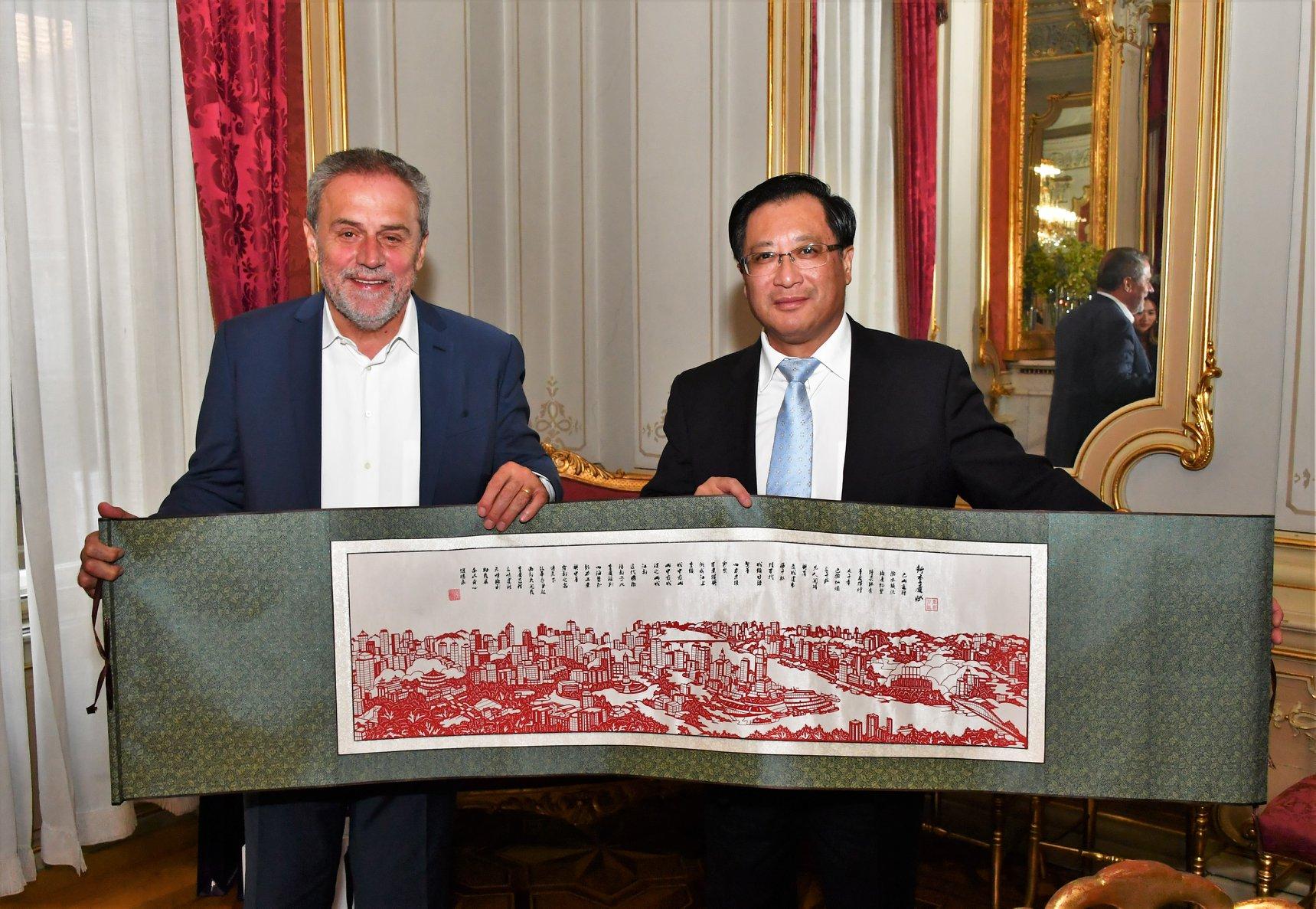 Photo of Susret zagrebačkog gradonačelnika s izaslanstvom kineskog Grada Chongqinga