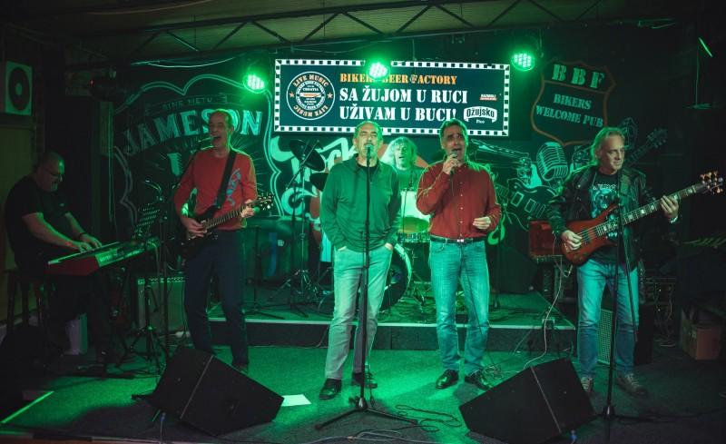 Photo of Splitski bend Diogen i Dean Dvornik promovirali albume svirkom u Bikers Beer Factoryu