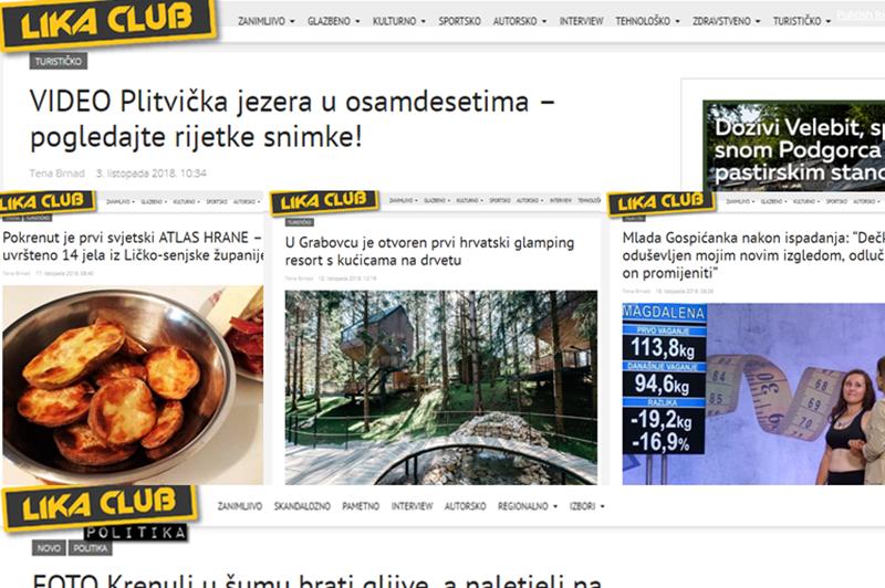 Photo of TOP 5 Što se najviše čitalo u listopadu? Plitvička jezera u osamdesetima, novi kamp u Grabovcu, Atlas hrane…