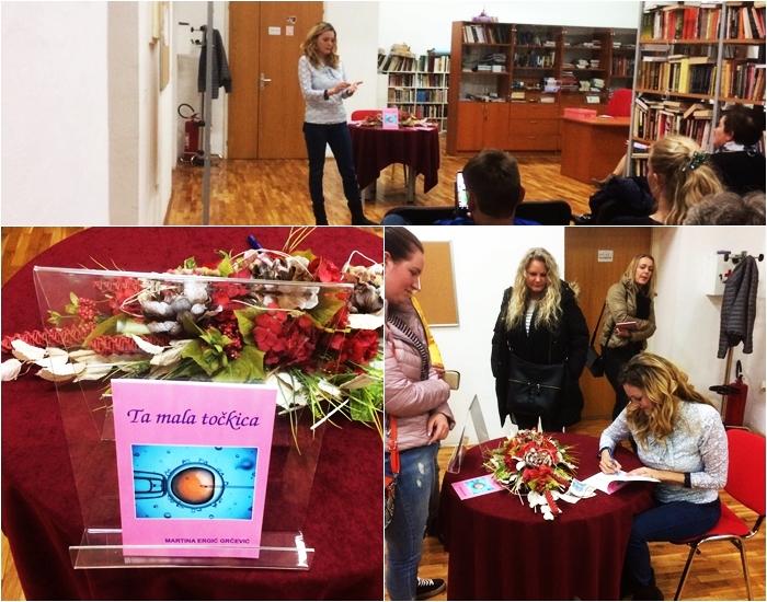 Photo of TA MALA TOČKICA: U Otočcu predstavljena nova knjiga Martine Ergić-Grčević