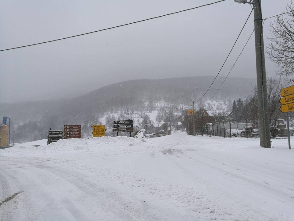 Photo of Zbog snijega i jake bure Sjeverni Velebit zatvoren za posjetitelje