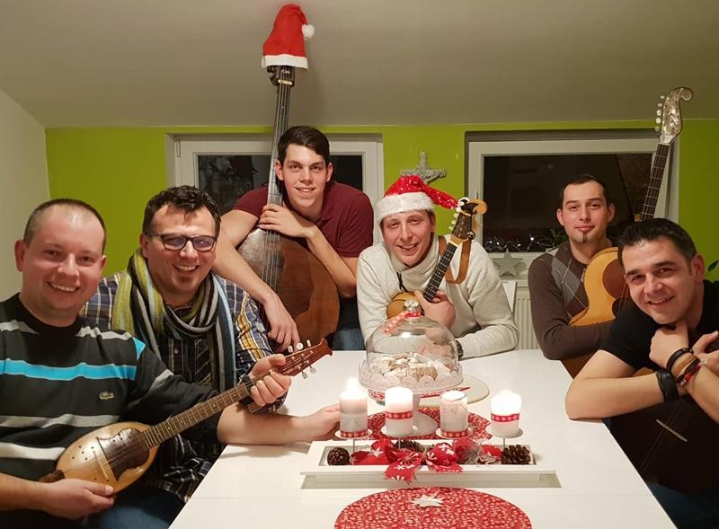 Photo of Tamburaški sastav Garavi snimili božićni bećarac
