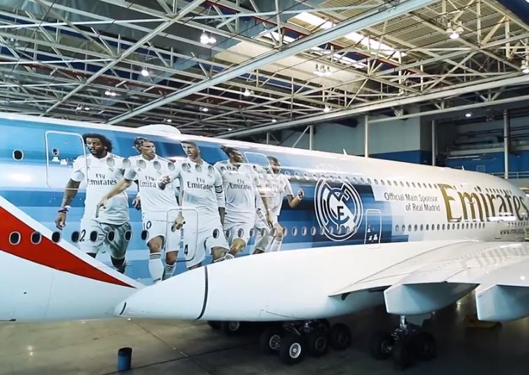 Photo of Luka Modrić na novom zrakoplovu Real Madrida