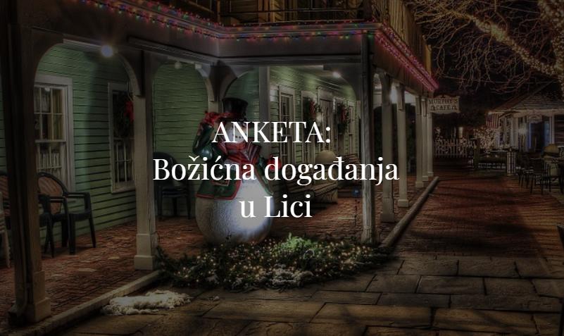 Photo of ANKETA: Jeste li zadovoljni božićnim događanjima u Ličko-senjskoj županiji?