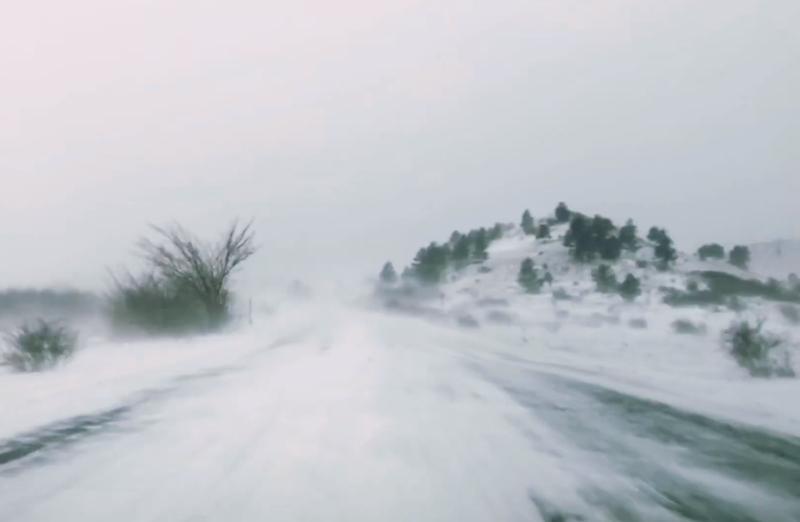 Photo of VIDEO Snježna idila na ličkim cestama