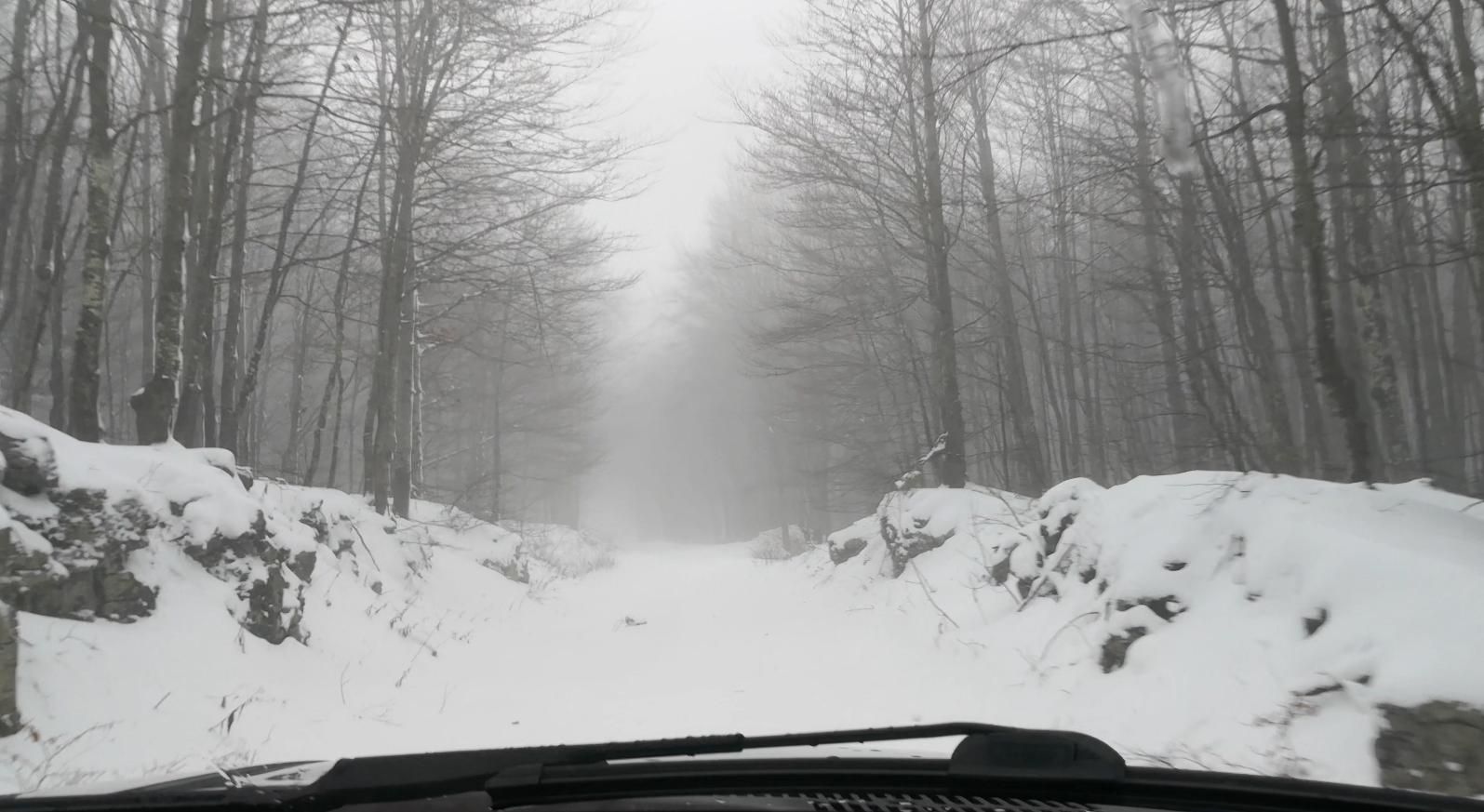Photo of VIDEO Velebitska snježna cesta kao početak ličke zimske idile