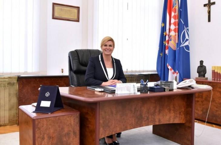 """Photo of Predsjednica o obljetnici priznanja: """"Hvala svima koji su nam ovaj dan učinili povijesnim!"""""""
