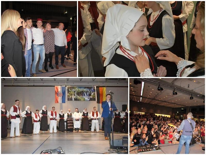 Photo of FOTO Lička večer u Stuttgartu okupila preko 1.500 Ličana i njihovih prijatelja