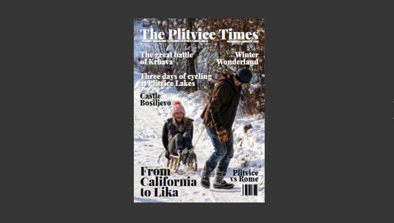 Photo of Čitajte zimski broj The Plitvice Timesa i online, od danas dostupno digitalno izdanje