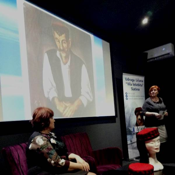 """Photo of """"Lička kapa"""" autorica Tatjane Kolak i Dragice Rogić predstavljena u Slatini"""