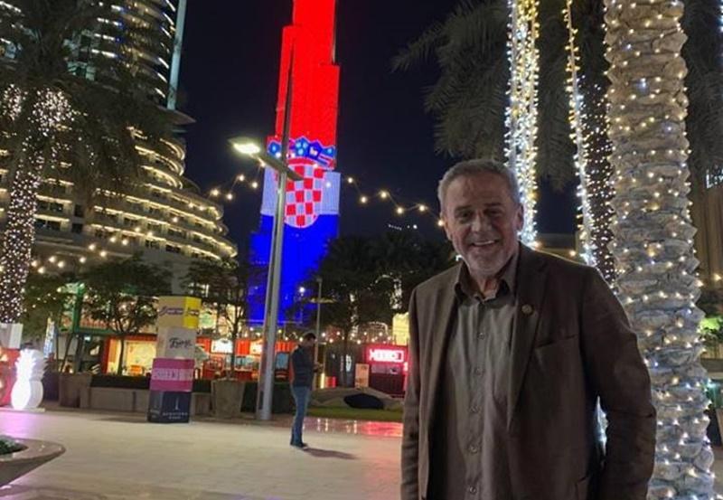 Photo of Najviša zgrada na svijetu zasvijetlila u bojama hrvatske zastave