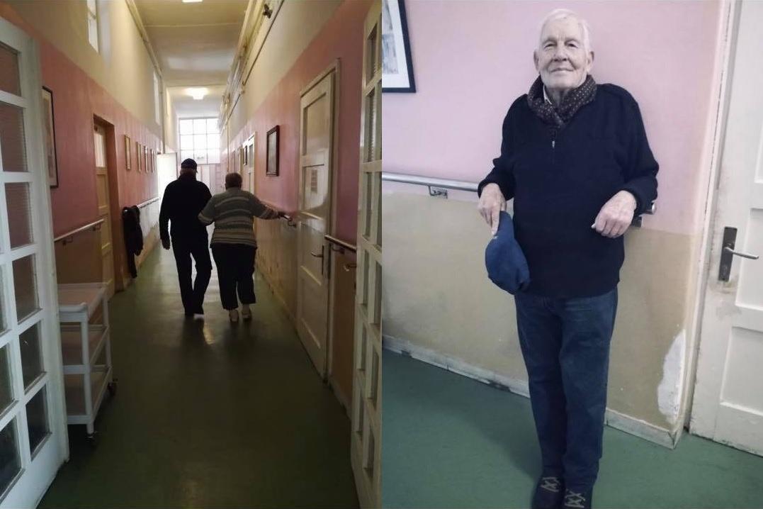 Photo of Barba Šime (86) nakon smrti voljene supruge volontira na njenom odjelu