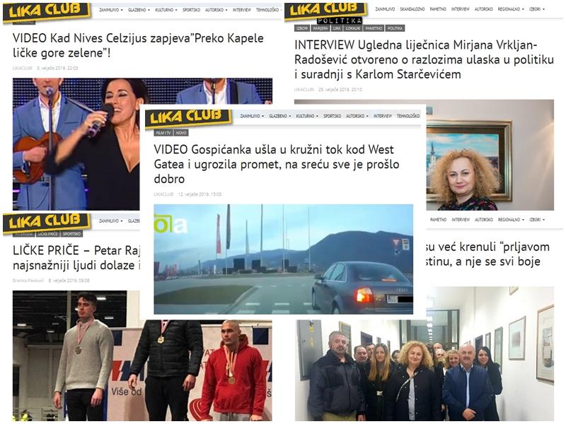 Photo of TOP 5 Što se najviše čitalo u veljači? Gospićanka u kružnom toku, ličke priče, razgovor s Mirjanom Vrkljan-Radošević