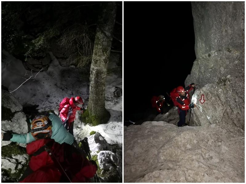 Photo of HGSS spasio planinare koji su zapeli pod grebenom Crnopca