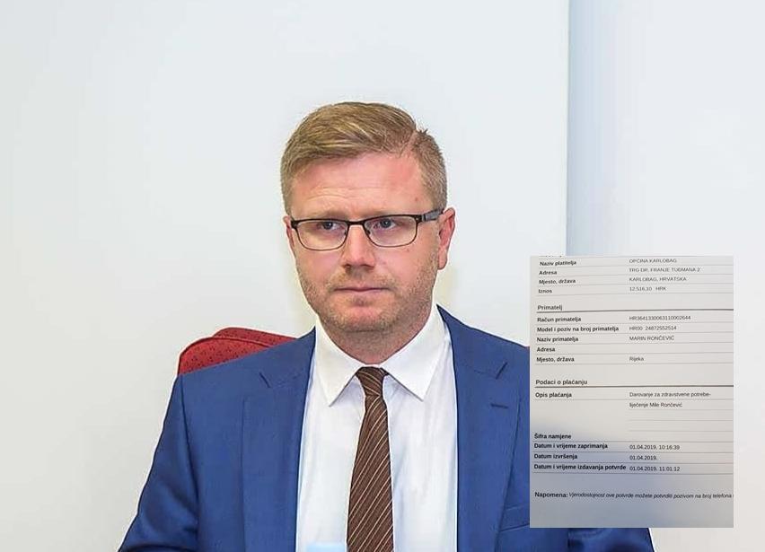Photo of Zamjenik načelnika Smojver objavio da je Karlobag prikupio preko 25000 kuna za Milu Rončević