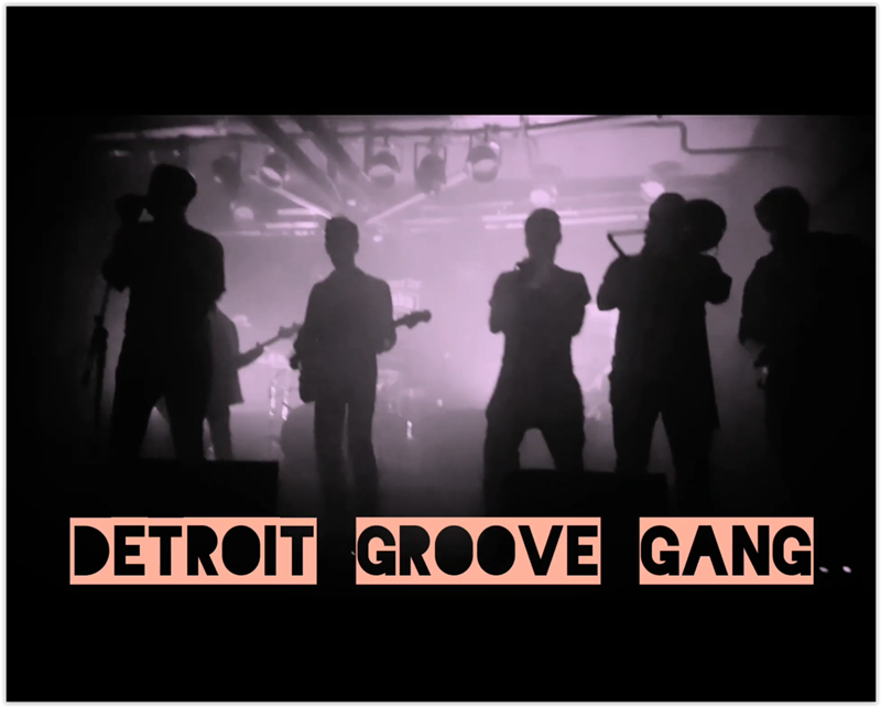 "Photo of Detroit Groove Gang predstavlja live izvedbu pjesme ""Gotta Feel Fine"""