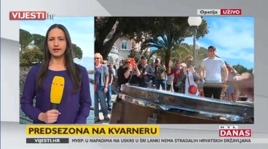 Photo of VIDEO Na Kvarneru odlični turistički rezultati, više od 20% povećanje broja gostiju