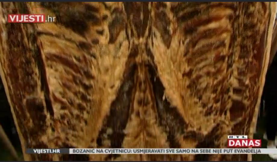 """Photo of VIDEO Slavonci izvagali najtežu slaninu, čak 194 kilograma! Ovako izgleda """"kaput slanina"""""""