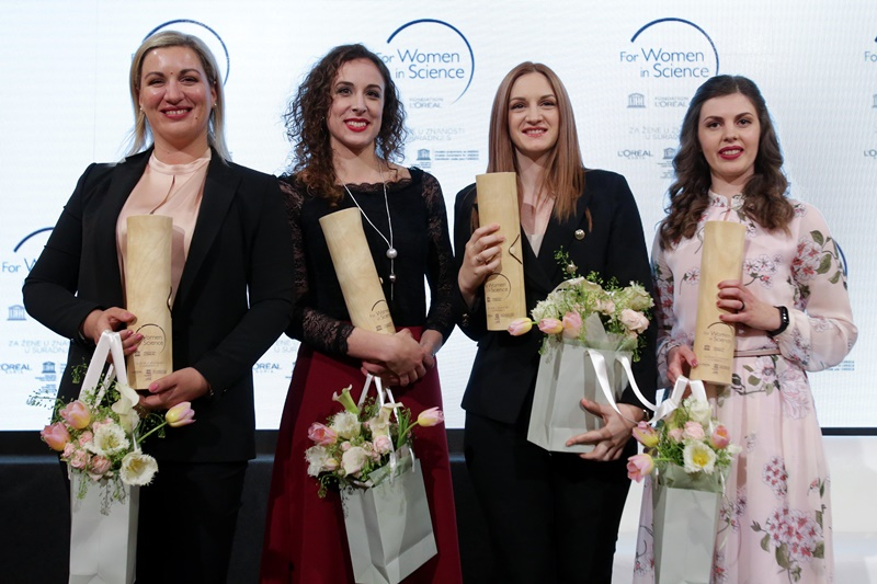 "Photo of Četiri hrvatske znanstvenice postale nove stipendistice prestižnog programa L'Oréal-UNESCO ""Za žene u znanosti"""