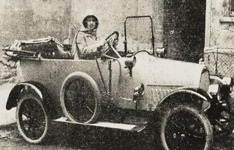 Photo of NA DANAŠNJI DAN Alma pl. Balley – prva žena u Hrvatskoj koja je položila vozački ispit
