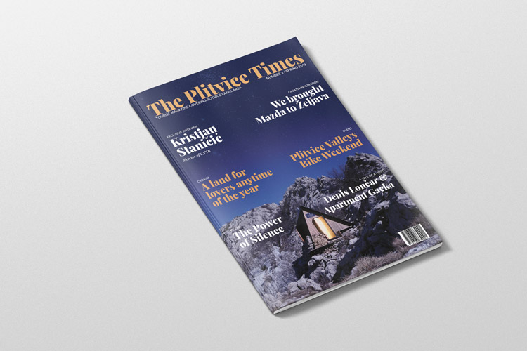 Photo of Novi broj The Plitvice Timesa! EKSKLUZIVNO: Intervju s direktorom HTZ-a Staničićem, timom koji je doveo Mazdu u Željavu, i još mnoštvo novosti