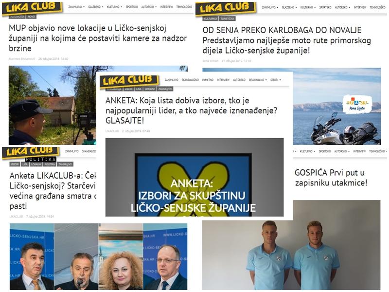 Photo of TOP 5 Što se najviše čitalo u ožujku? Nove lokacije za nadzor brzine, anketa, najljepše moto rute županije…
