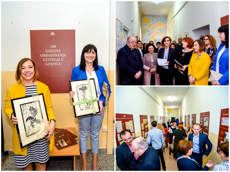 Photo of FOTO Otvorena izložba povodom 100 godina obrazovanja učitelja u Gospiću