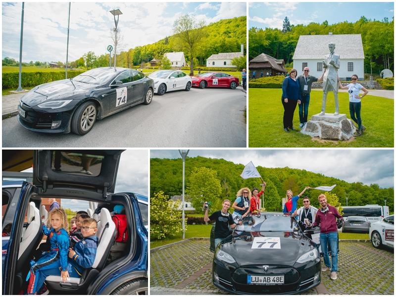 Photo of FOTO Električna karavana posjetila Smiljan, timovi Nikola Tesla EV Rally-ja oduševljeni Likom