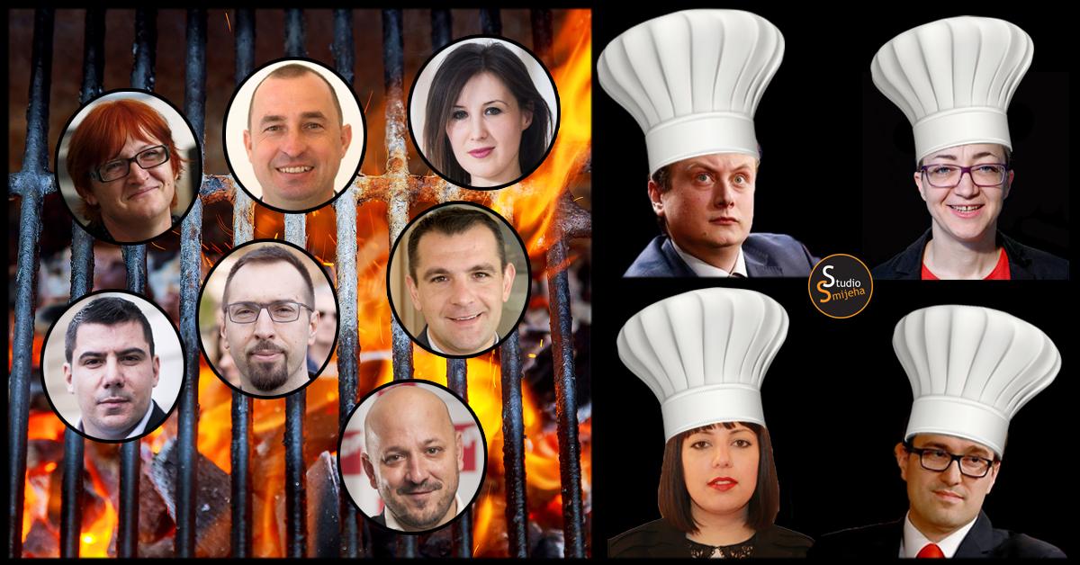 """Photo of Orešković, Grmoja, Maras i drugi na prvom političkom """"prženju"""" kandidata za EU izbore!"""