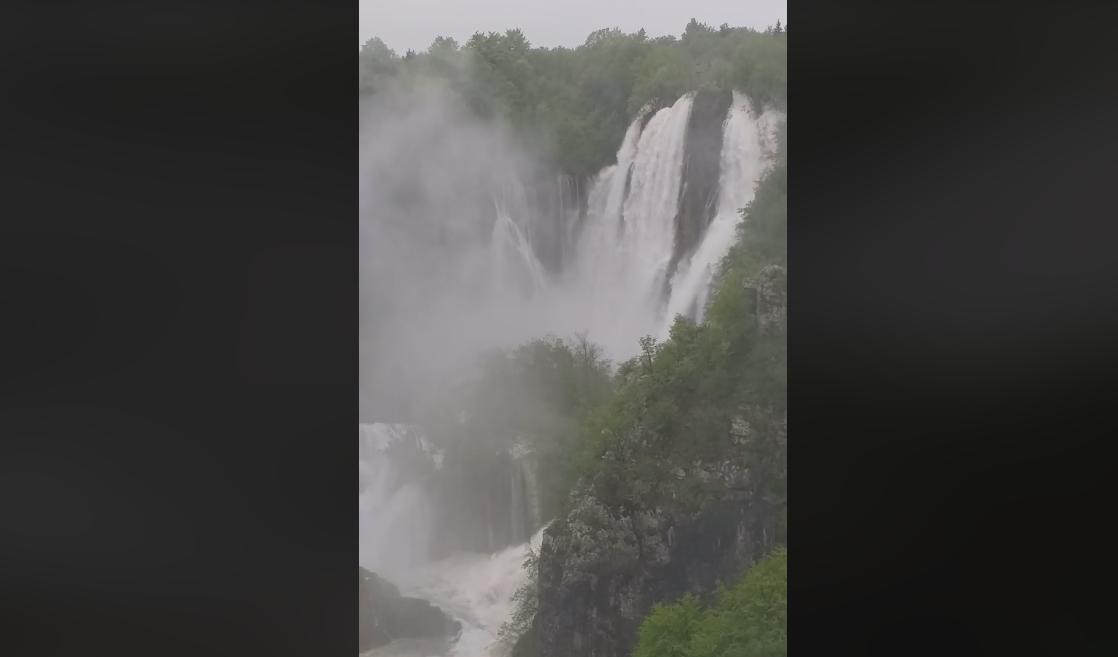 Photo of VIDEO Veliki slap na Plitvicama pokazuje moć prirode!