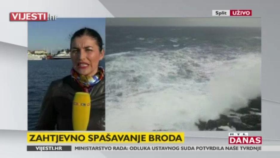 Photo of VIDEO Traje akcija spašavanja talijanskog trajekta, čeka se dolazak u Split!
