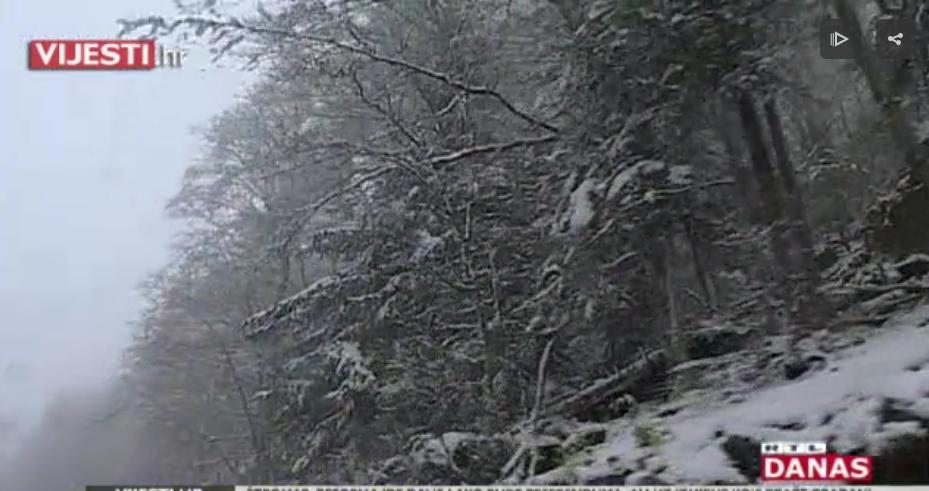 Photo of VIDEO Snijeg opet zabijelio Hrvatsku, no stanovnici Gorskog kotara su ipak spremni u svako doba godine