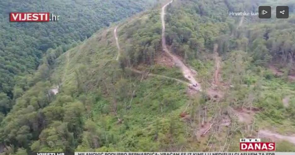 Photo of VIDEO Pogledajte posljedice nedavnog nevremena – mnogi parkovi razoreni, Medvednica devastirana!