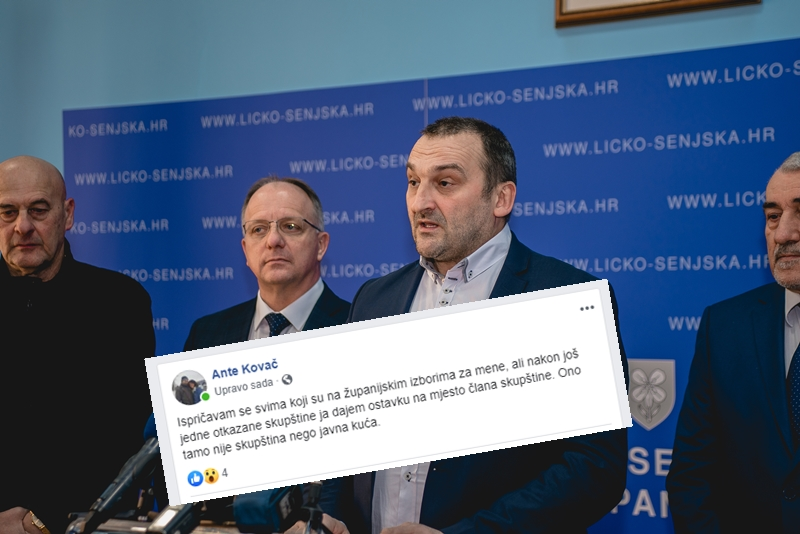 """Photo of Kovač dao ostavku na mjesto člana Skupštine: """"Ono tamo nije skupština nego javna kuća"""""""