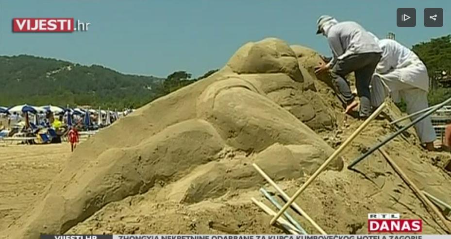 Photo of VIDEO Poznati superheroji čuvaju Rajsku plažu u Loparu