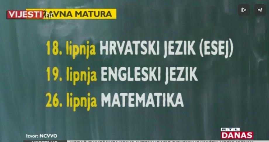 Photo of VIDEO Počeli obvezni ispiti državne mature