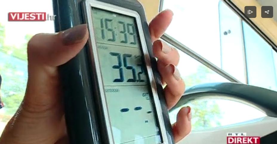 Photo of VIDEO Ekstremni uvjeti u javnom prijevozu – temperature idu iznad 36 stupnjeva!