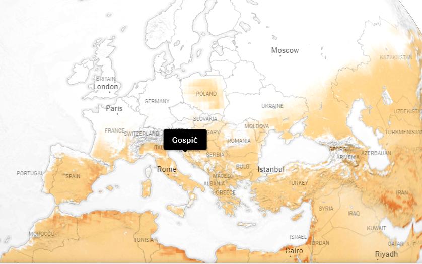 Photo of Interaktivna karta otkriva koliko je danas topliji vaš grad nego u godini kad ste se rodili